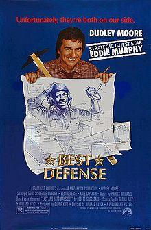 poster Best defence (1984)