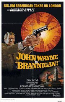 poster Brannigan (1975)