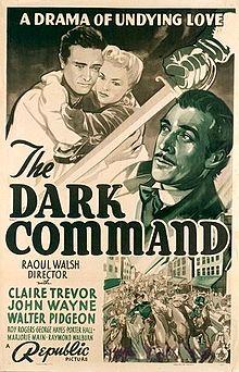 poster Dark Command (1940)