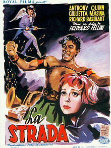 poster La Strada (1954)