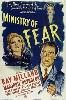poster Ministry of Fear (1944)
