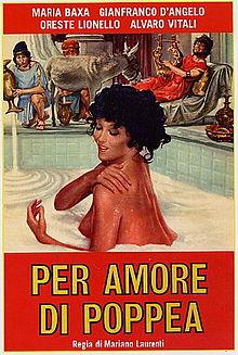 poster Per Amore di Poppea (1977)