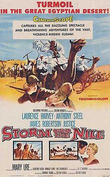 poster Storm Over the Nile (1955)