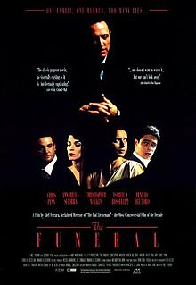 poster The Funeral (1996)