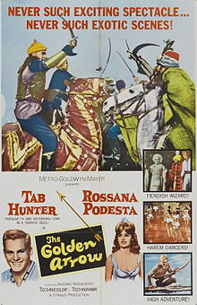 poster The Golden Arrow (1962)