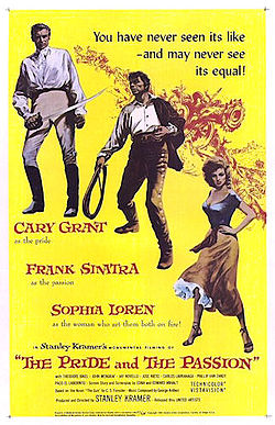 poster The Pride and the Passion (1957)