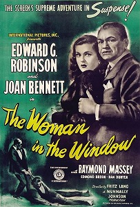 poster The Woman in the Window (1944)