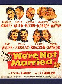 poster We're Not Married! (1952)