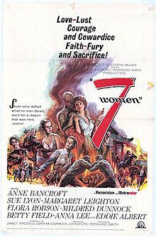 poster 7 Women (1966)