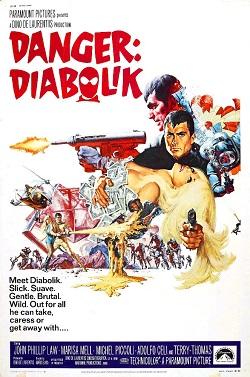 poster Danger Diabolik (1968)