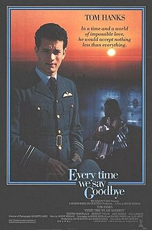 poster Every Time We Say Goodbye (1986)