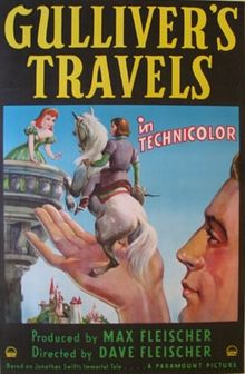 poster Gulliver's Travels (1939)