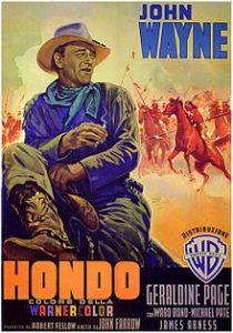 poster Hondo (1953)