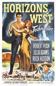 poster Horizons West (1952)