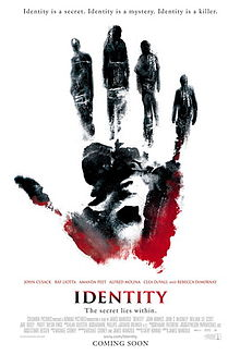 poster Identity (2003)