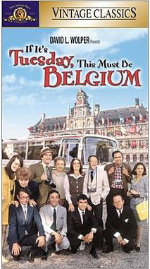 poster If It's Tuesday, This Must Be Belgium (1969)