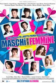 poster Maschi Contro Femmine (2010)