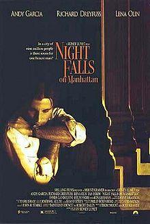 poster Night Falls on Manhattan (1996)