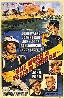 poster She Wore a Yellow Ribbon (1949)