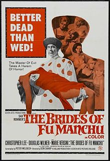 poster The Brides of Fu Manchu (1966)