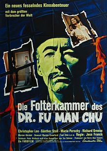 poster The Castle of Fu Manchu (1969)