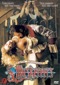 poster The Erotic Adventures of the Three Musketeers (1992)