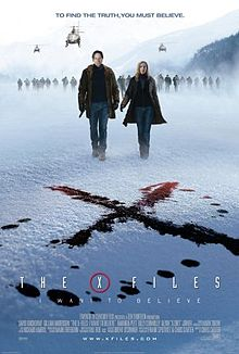 poster The X-Files I Want to Believe (2008)