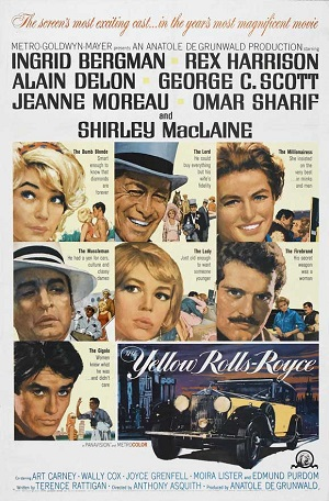 poster The Yellow Rolls Royce (1964)