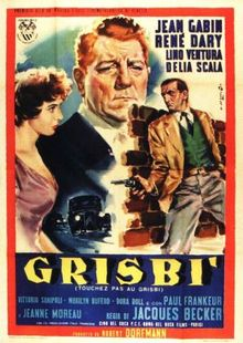 poster Touchez Pas au Grisbi (1954)