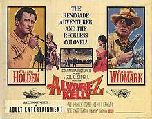 poster Alvarez Kelly (1966)