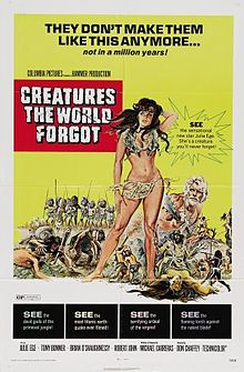 poster Creatures The World Forgot (1971)