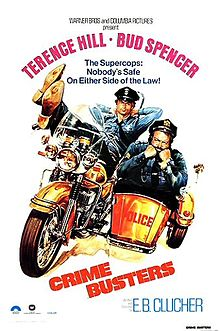 poster Crime Busters (1977)