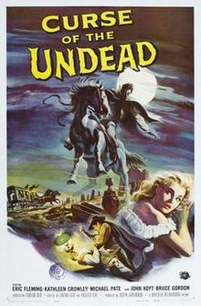 poster Curse of the Undead (1959)