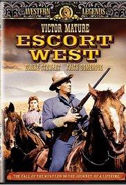 poster Escort West (1958)