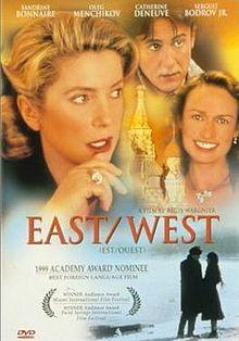 poster Est - Ouest (1999)