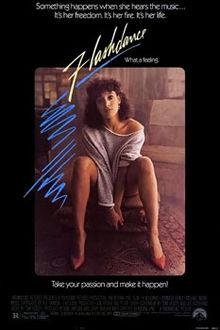 poster Flashdance (1983)