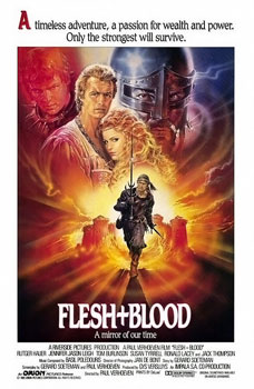 poster Flesh and Blood (1985)