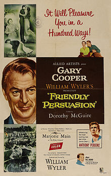 poster Friendly Persuasion (1956)