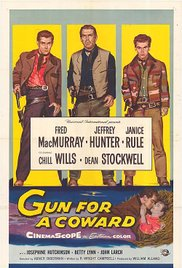 poster Gun for a Coward (1957)