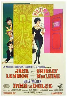 poster Irma la Douce (1963)