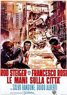 poster Le mani sulla citta (1963)