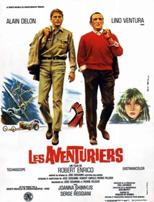 poster Les Aventuriers (1967)