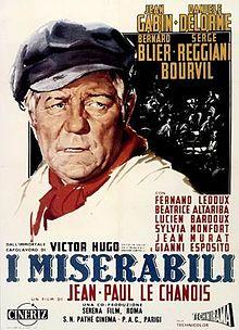 poster Les miserables (1958)