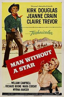 poster Man Without a Star (1955)