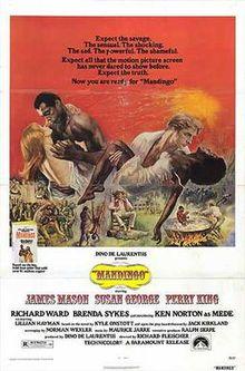 poster Mandingo (1975)