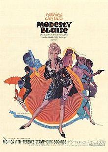 poster Modesty Blaise (1966)