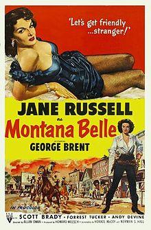 poster Montana Belle (1952)