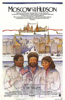 poster Moscow on the Hudson (1984)