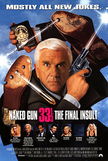 poster Naked Gun 33 1-3 The Final Insult (1994)