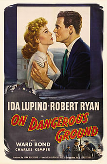 poster On Dangerous Ground (1952)